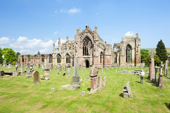 Melrose Abbey Royalty Free Stock Photos