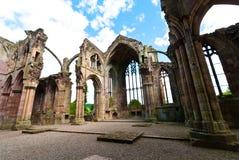 Melrose abbey Stock Photography