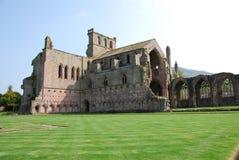 Melrose Abbey Ruins Stock Photos