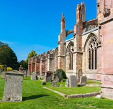 Melrose abbey Royalty Free Stock Photo