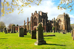 Melrose abbey Royalty Free Stock Photo