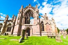 Melrose abbey Stock Photos