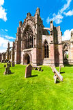 Melrose abbey Stock Photos