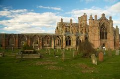 Melrose Abbey Royalty Free Stock Photos