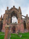 Melrose-Abtei, Schottland Lizenzfreie Stockbilder