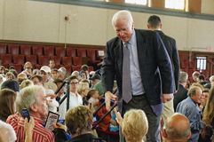 Senator John McCain royalty free stock photos