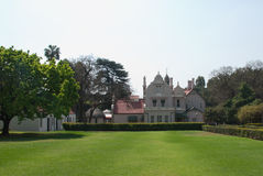 Melrose museumtuin royalty-vrije stock foto