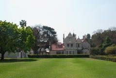 Melrosemuseumträdgård Royaltyfri Foto
