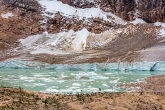 Melt water Lake of Edith Cavell Royalty Free Stock Images