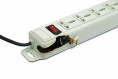 Meltdown and Burn Power Bar Plug Stock Photo