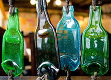 Melted bottles Royalty Free Stock Images
