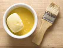 Melted butter Royalty Free Stock Photo