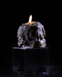 Melted candle Royalty Free Stock Photography