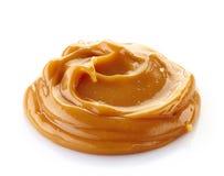 Melted caramel Stock Image