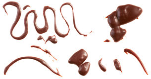 Melted chocolate Royalty Free Stock Image