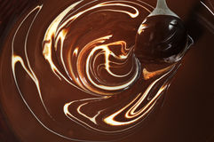 Melted chocolate Royalty Free Stock Photos