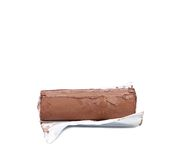 Melted chocolate bar. Stock Photos