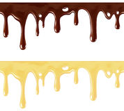 Melted chocolate Stock Photos