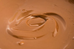 Melted milk chocolate Royalty Free Stock Image