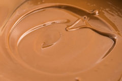 Melted milk chocolate Royalty Free Stock Photography