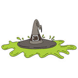 Melted Witch Stock Images