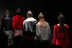 Meltem Ozbek Catwalk in Mercedes-Benz Fashion Week Istanbul Stockbild