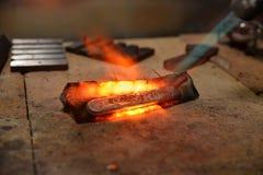 melting stock foto