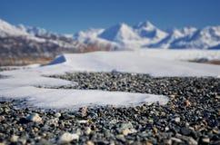 Melting Alaskan Glacier Landscape Stock Images
