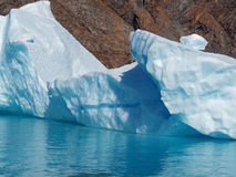 Melting bergy bit, Greenland. Stock Photos