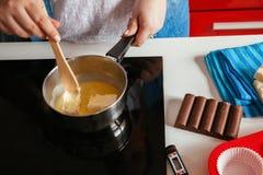 Melting Butter Stock Image