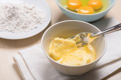 Melting butter Royalty Free Stock Image