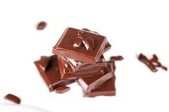 Melting chocolate Stock Photography