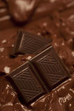 Melting chocolate Stock Photos