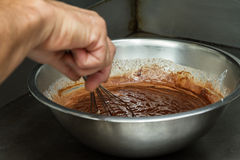 Melting chocolate Royalty Free Stock Photos