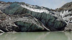 Melting of Gangotri Glacier, Gangotri to Gaumukh Trek.Gangotri-Gaumukh.