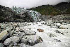 Melting Glacier Royalty Free Stock Photos
