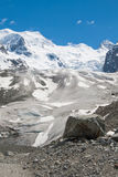 Melting glacier. In the Alps, Switzerland Stock Photography