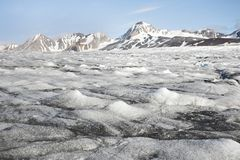Melting glacier - Arctic, Svalbard Stock Image