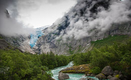 Melting glacier Stock Photos