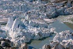 Melting Glacier Ice Stock Photos
