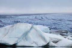 Melting glacier, Iceland. Stock Photo