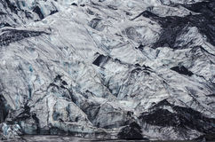 Melting glacier in Iceland Stock Photography