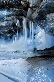 Melting glaciers. Royalty Free Stock Photography