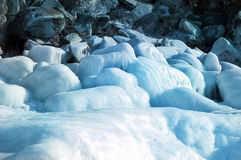 Melting glaciers. Royalty Free Stock Photo