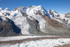 Melting glaciers Royalty Free Stock Photo