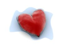Melting heart Royalty Free Stock Photo
