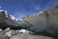 Melting High Mountain Glacier Stock Photos