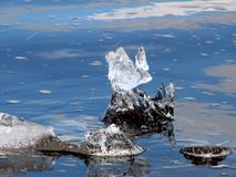 Melting Ice Stock Photography