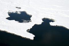 Melting ice Stock Images
