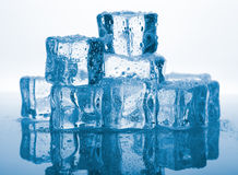 Melting ice Stock Images